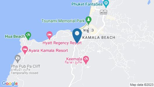 Oceana Resort A15 One Bedroom Map