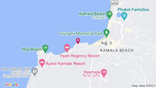 Cape Sienna Gourmet Hotel & Villas Map