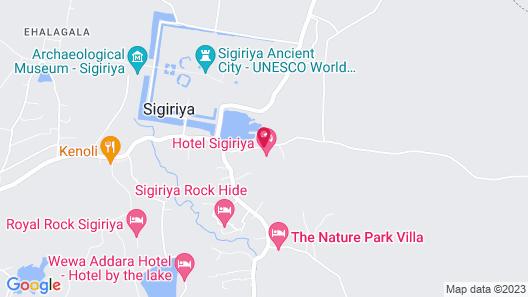 Hotel Sigiriya Map