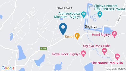 Jetwing Vil Uyana Map