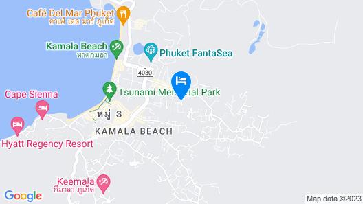 Trend Kamala Hotel Map