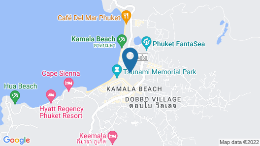 Kamala Beach Resort, A Sunprime Resort - Adults Only Map