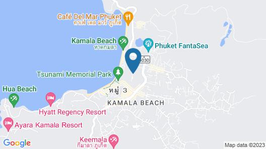 Sunwing Kamala Beach Map