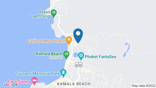 Swissotel Suites Phuket Kamala Beach Map