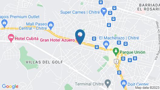 Gran Hotel Azuero Map