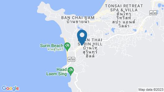 Surin Sunset Hotel Map