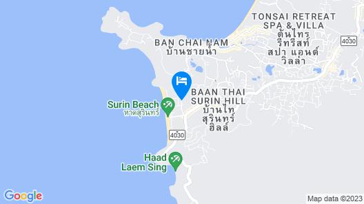 Twinpalms Phuket Map