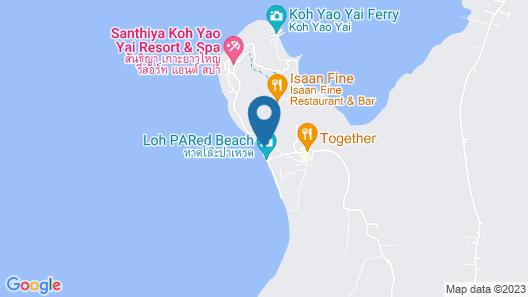Royal Yao Yai Island Beach Resort – Near Phuket Map