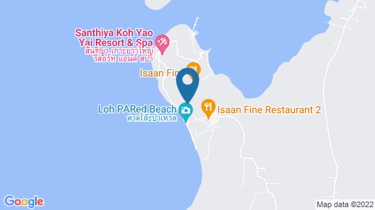 Santhiya Koh Yao Yai Resort & Spa Map
