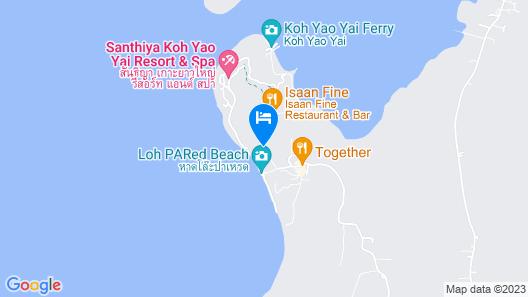 Santhiya Koh Yao Yai Resort & Spa Map