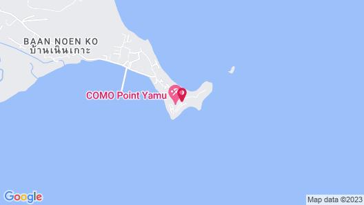 COMO Point Yamu, Phuket Map