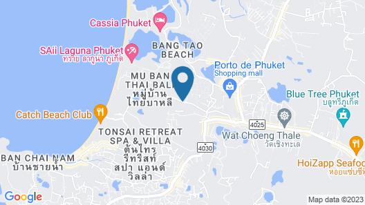 Diamond Resort Phuket Map