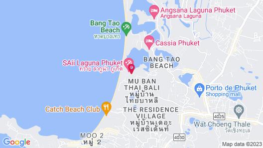 SAii Laguna Phuket Map