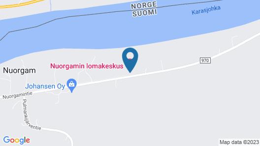 Nuorgam Holiday Village Map