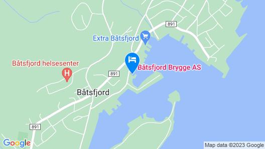 Båtsfjord Brygge Map