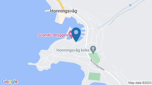Scandic Bryggen Map