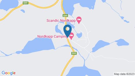 Nordkapp Camping Map