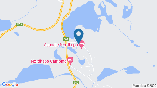 Scandic Nordkapp Map