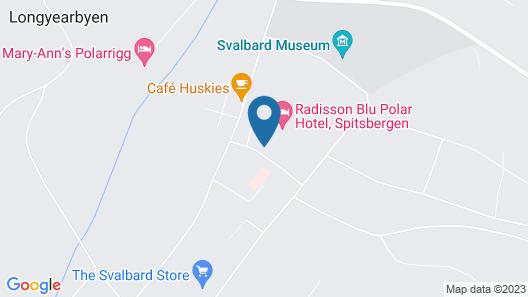 Radisson Blu Polar Hotel Spitsbergen Map