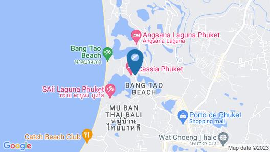 Cassia Phuket Map