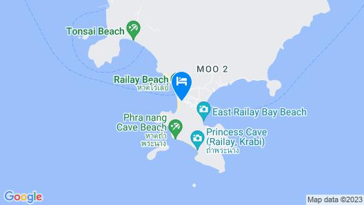 Rayavadee Map