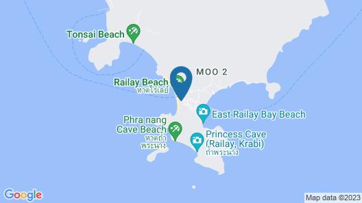 Sand Sea Resort Map