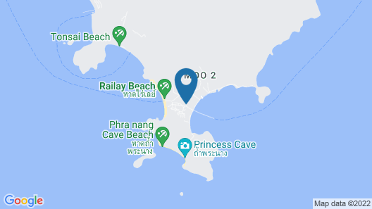 Railay Princess Resort & Spa Map