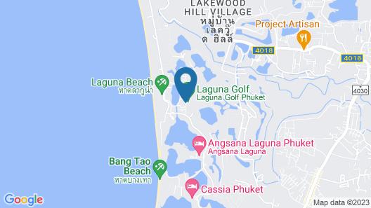 Banyan Tree Phuket Map