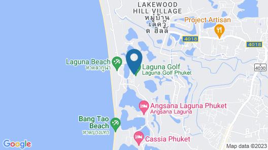 DoublePool Villas by Banyan Tree Map