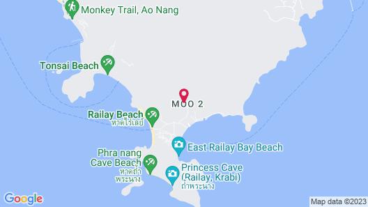 Railay Phutawan Resort Map