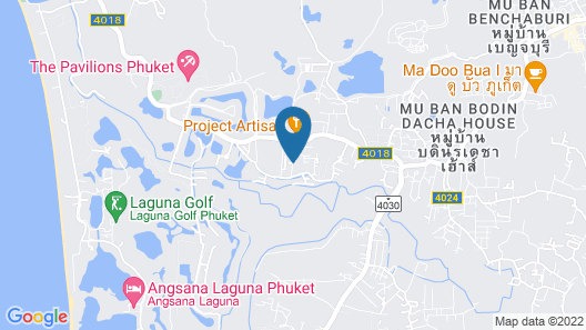 Seastone Private Pool Villas Map