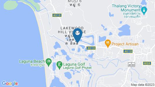 Angsana Villas Resort Phuket Map