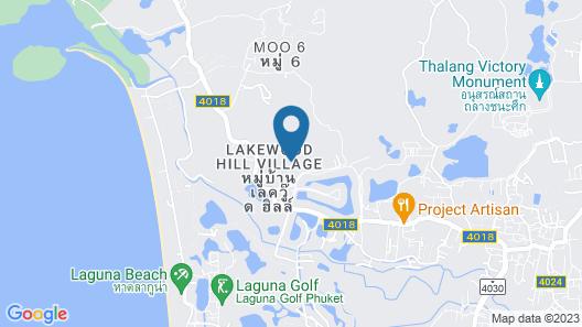 The Pavilions Phuket Map
