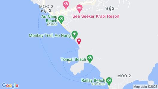 Centara Grand Beach Resort & Villas Krabi Map