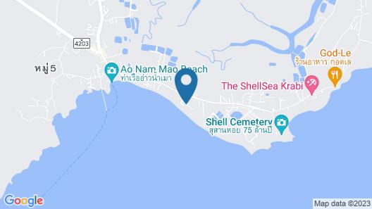 Amatapura Beach Villa 10 Map