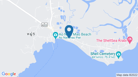 Villa Cha-Cha Krabi Beachfront Resort Map