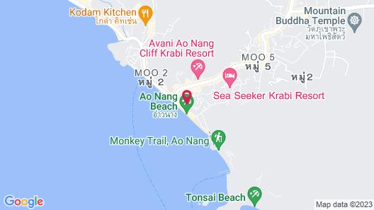 Golden Beach Resort Map