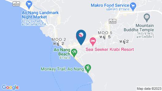 Panan Krabi Resort Map