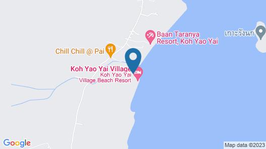 Koh Yao Yai Village Map