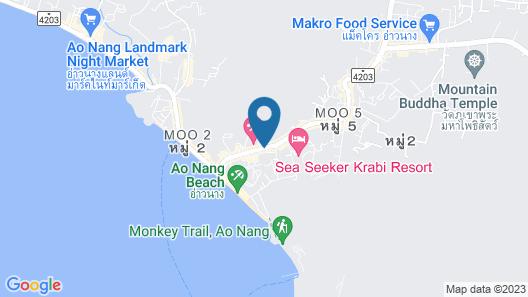 dusitD2 Ao Nang Krabi Map