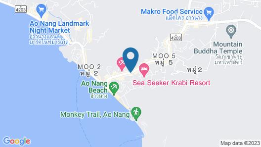 Avasea Resort Krabi Map