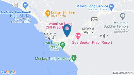 Avani Ao Nang Cliff Krabi Resort Map