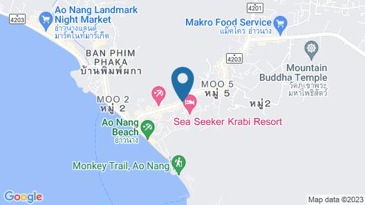 COSI Krabi Ao Nang Beach Map