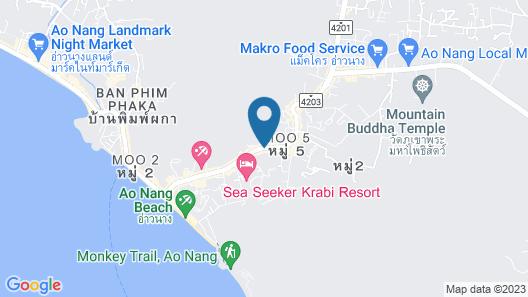 ibis Styles Krabi Ao Nang Map