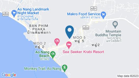 Krabi Cha-da Resort Map