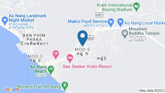 LaRio Hotel Krabi Map