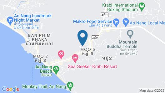 Ao Nang Phu Pi Maan Resort and Spa Map