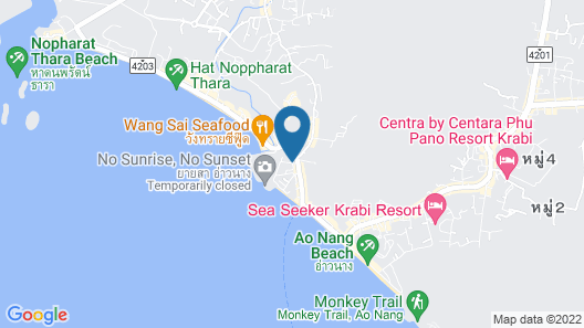 Krabi Resort Pool Villa Map