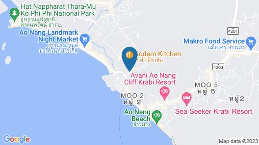 AoNang Colors Hotel Krabi Map