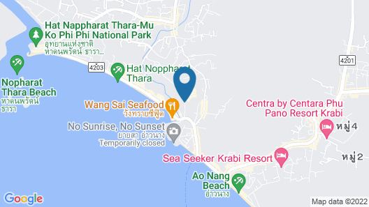Centara Anda Dhevi Resort and Spa Map